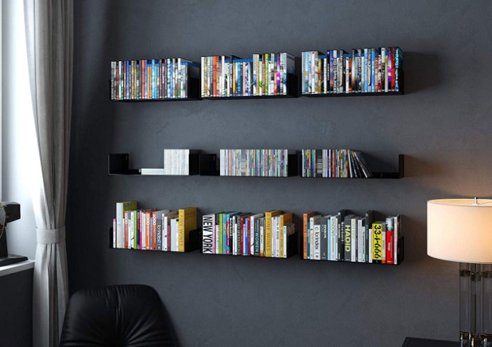 Bookshelves Can Double Up As Walls